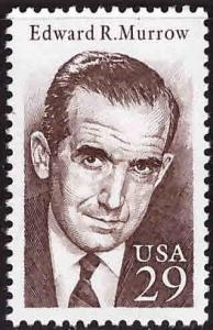 USA Scott 2812 MNH** Edward R. Murrow single
