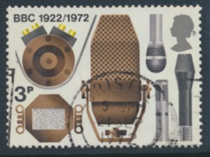 Great Britain  SG 909  SC# 676  BBC  Used see detail and scan