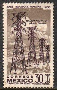MEXICO 916, 30¢ 50th Anniv Mexican Revolution. Used. F-VF. (529)