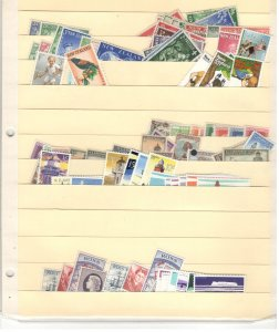 NEW ZEALAND COLLECTION ON STOCK SHEET, MINT/USED