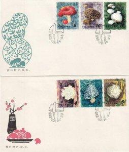 1981, China: PRC: Mushroom Set, FDC, Grp/2 (40403)