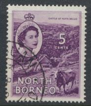 North Borneo  SG 376  SC# 265  Used  see scan