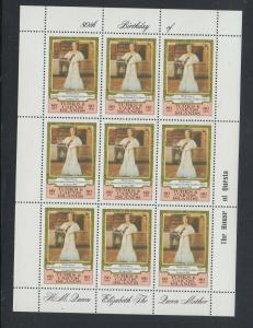 TURKS CAICOS  SCOTT #441 SHEET OF 9 STAMPS  VF NH SCOTT $$6.30 NOW @  $2.50