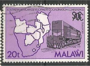MALAWI, 1985, used 20t, Southern African Development .Scott 464
