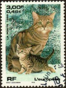 France 2741 - Used - 3fr / 46c European Cat (1999) (cv $0.85)