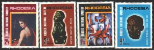 Rhodesia. 1967. 62-65. National Gallery, painting. MLH.