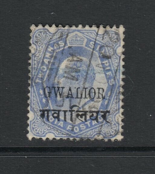 India (Gwalior), Sc 39 (SG 52B), used