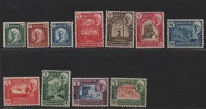 $Aden-Qu'aiti state Sc#1-11 M/LH/VF, complete set, Cv. $70.30