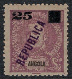 Angola #117* CV $5.75