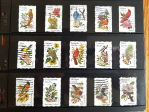 1982 States Bird and Flowers Issue; used