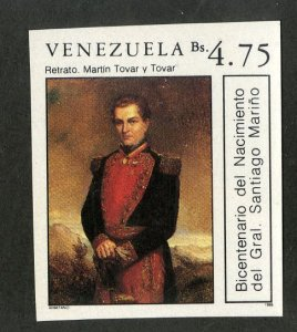 VENEZUELA 1419 MNH IMPERF BIN $3.00 MILITARY