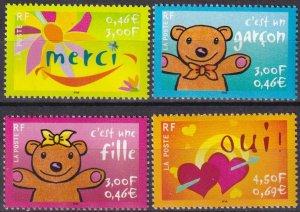 France #2805-8  MNH CV $6.30 (Z7900)