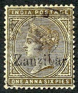 Zanzibar SG5 1a6p Small second Z and inverted Q for B (wrinkle)