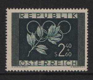 Austria  1952 MNH Winter Olympics Oslo complete