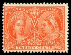 MOMEN: CANADA SC #59 JUBILEE MINT OG NH LOT #60620