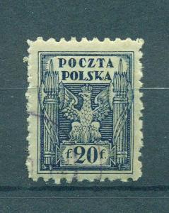 Poland sc# 99 (1) used cat value $.25