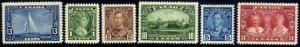 HERRICKSTAMP CANADA Sc.# 211-16 1935 Silver Jubilee Stamps