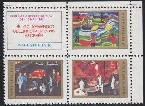 Macedonia - 1992 - SC RA13a - NH