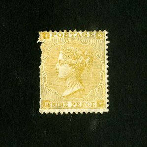Great Britain Stamps # 52 F-VF Unused w/ Small Fault Catalog Value $2,400.00