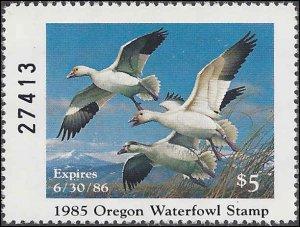 OR2 Mint,OG,NH... State Duck Stamp.. SCV $25.00