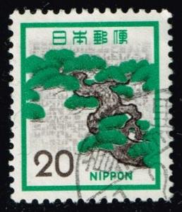 Japan #1071 Pine; Used (0.25)