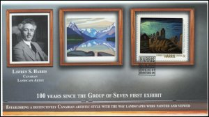 CA20-019, 2020, Group of Seven, Lawren Harris Pictorial Postmark, First Day Cove