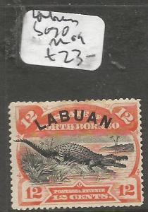 Labuan Crocodile SG 70 MOG (2clm)