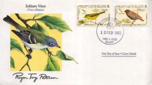 Turks & Caicos Is., First Day Cover, Birds