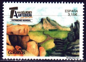 Spain. 2017. 5187. Dolmens in the Antequera area. MNH.