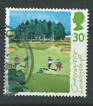GB  QEII  SG 1831 Golf Courses Fine Used