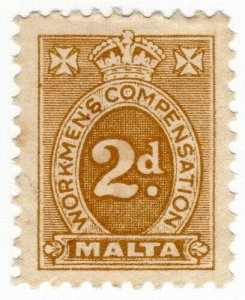 (I.B) Malta Revenue : Workmen's Compensation 2d