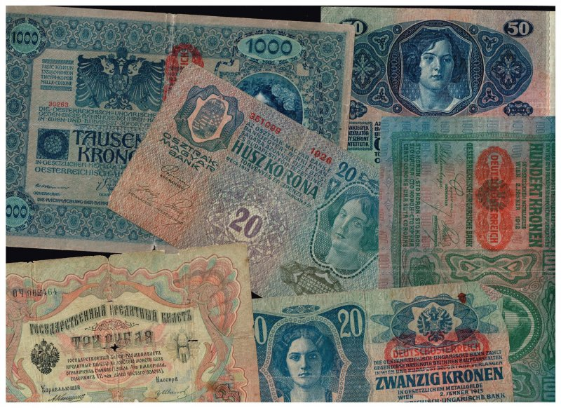 WORLDWIDE PAPER MONEY BANK NOTE COLLECTION LOT  F1