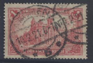 GERMANY-Scott 92 - Berlin Post Office - 1921- FU - Car Rose - Single 1m Stamp