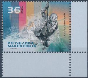 Makedonien stamp Rafting corner stamp MNH 2005 Mi 374 WS127477