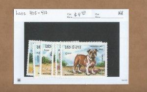 Laos  405-410  MNH