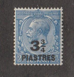 Great Britain Offices In turkish Empire #57 Mint