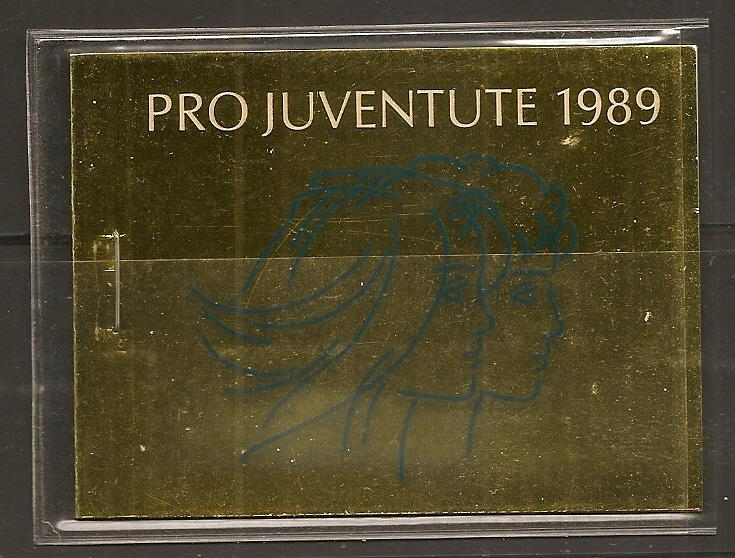 Switzerland B556 1989 Pro Juven Booklet