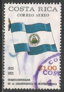 COSTA RICA C529 VFU FLAG Z5720-2