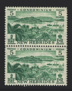 New Hebrides British Sc#82 MNH Pair