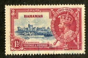 BAHAMAS 92 USE SCV $4.00 BIN $1.45 CASTLE