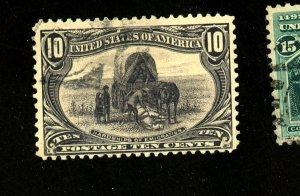 US #290 Used FVF Cat$35