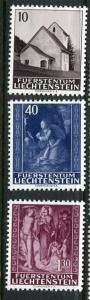 Liechtenstein #391-3 Mint