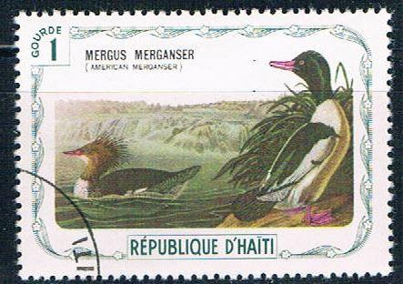 Haiti  Used Duck cancel on LL (H0037)