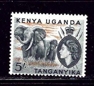 Kenya UT 115 MH 1954 Elephants