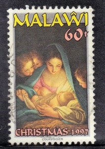 MALAWI   SC# 671  USED 1997  60t  CHRISTMAS    SEE SCAN
