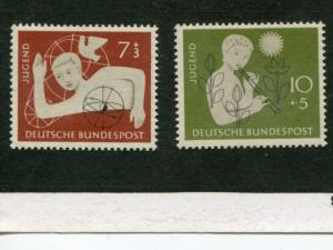 Germany #B348-49   Mint VF NH