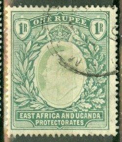 B: East Africa & Uganda 25 used CV $75