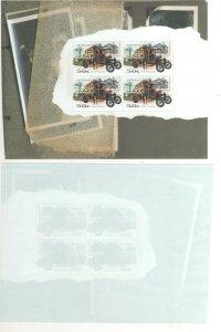 Australian Stamps 2006 Classic Cars 50c Ford TT 1917 Truck Block 4 Minisheet Min