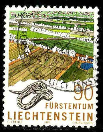 Liechtenstein # 1136 ~ Used, HMR ~ cv 1.25
