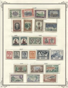 Southern Rhodesia #1//108 MLH/Used CV$411.70 1924-1964 Collection on Album Pa...